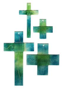 20120821-Glaskreuze Serie 04+20 aquamarin - chromgrÅn freigestellt