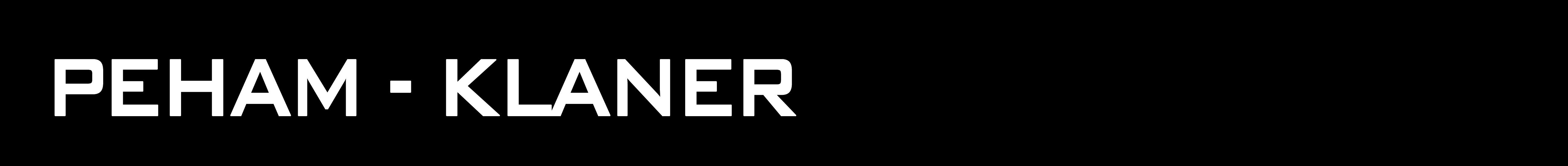 PEHAM – KLANER